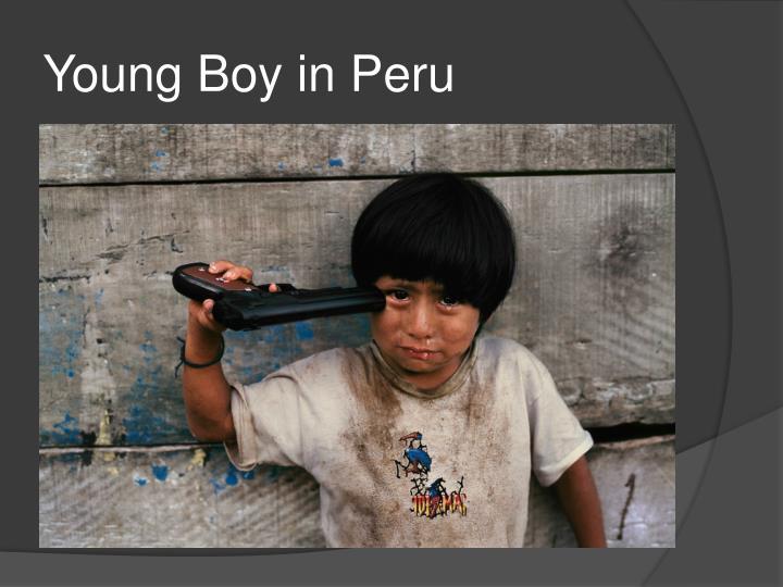 Young Boy in Peru