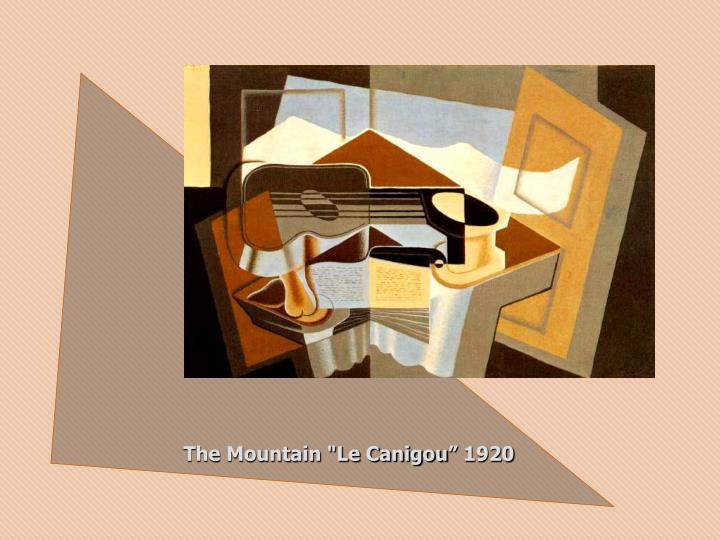 "The Mountain ""Le Canigou"" 1920"