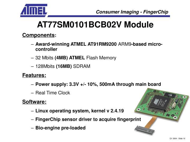 AT77SM0101BCB02V Module