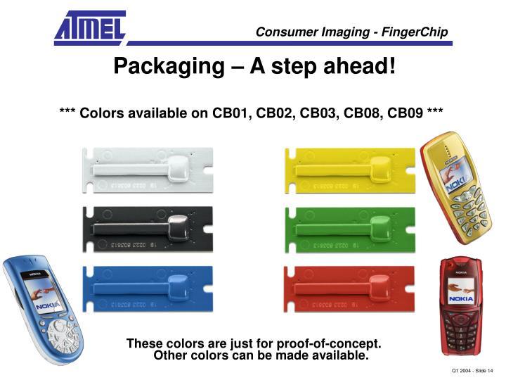 Packaging – A step ahead!