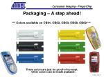 packaging a step ahead