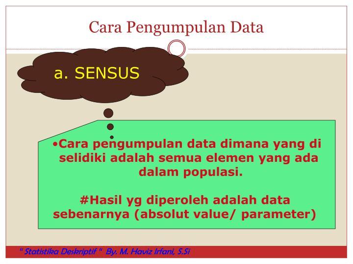 Cara Pengumpulan Data