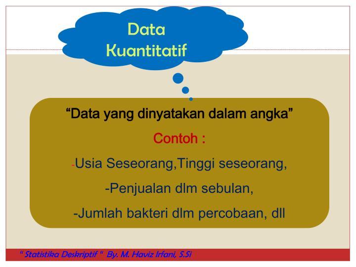 Data Kuantitatif