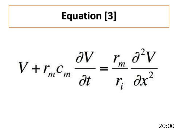 Equation [3]