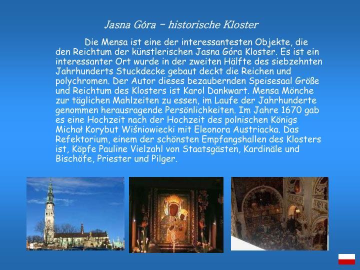 Jasna Góra - historische Kloster