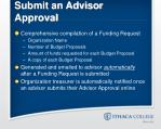 submit an advisor approval