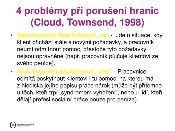 4 problémy při porušení hranic (