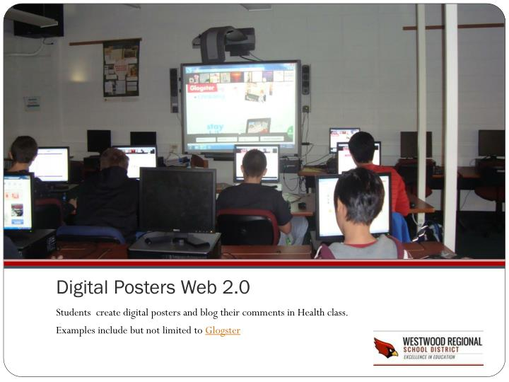 Digital Posters Web 2.0