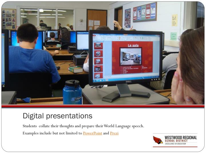 Digital presentations