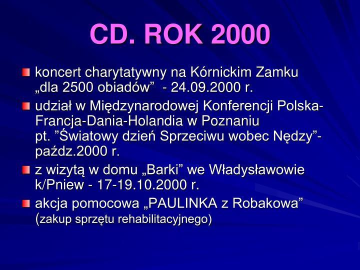 CD. ROK 2000