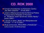 cd rok 2000