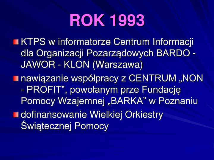 ROK 1993