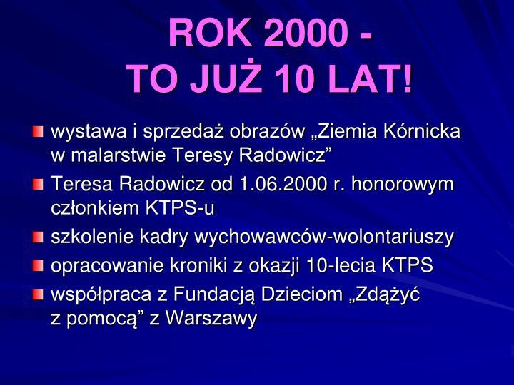 ROK 2000 -