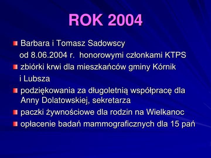 ROK 2004