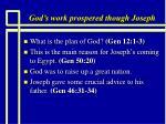 god s work prospered though joseph3