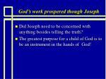god s work prospered though joseph6