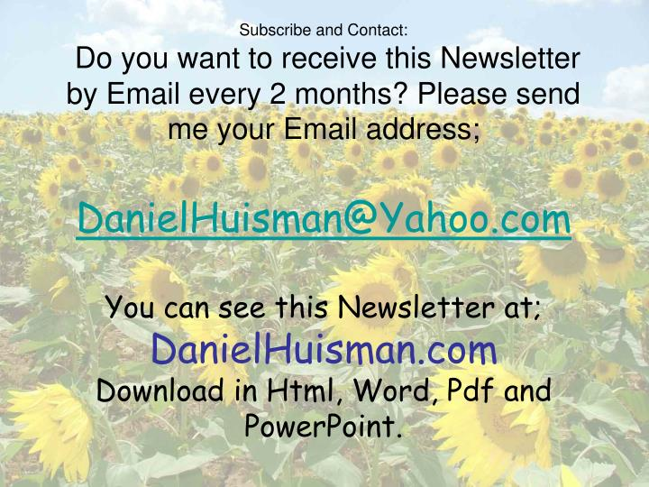 Subscribe and Contact:
