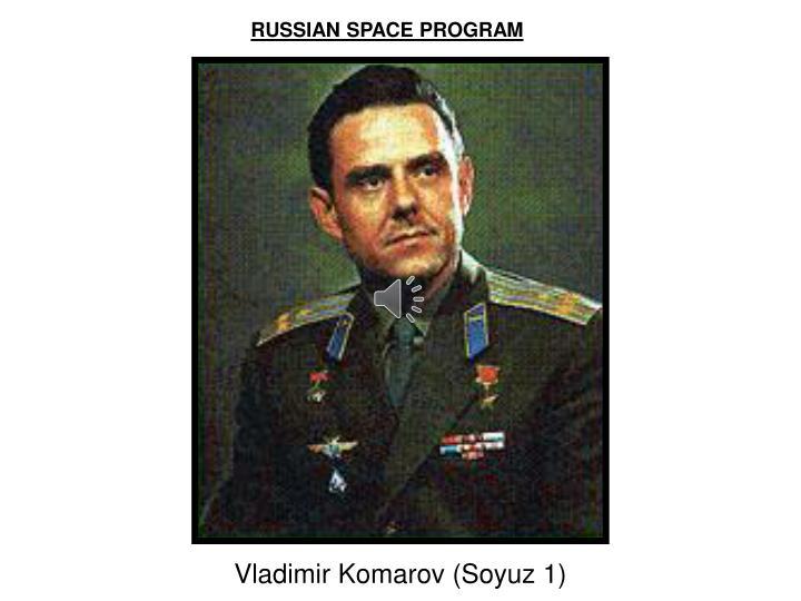 RUSSIAN SPACE PROGRAM