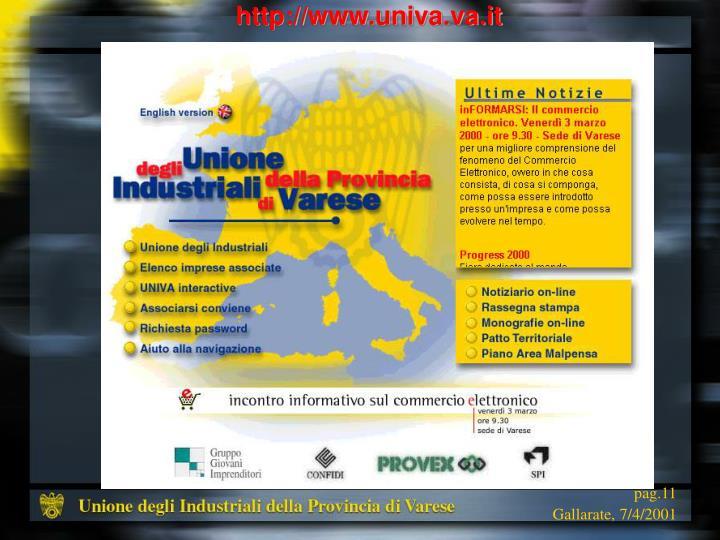 http://www.univa.va.it
