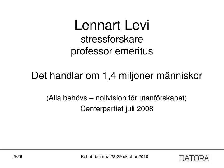 Lennart Levi