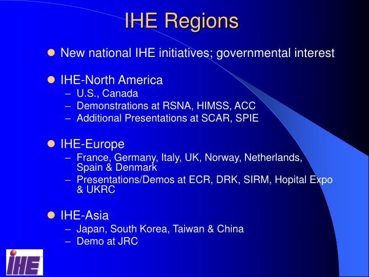 IHE Regions