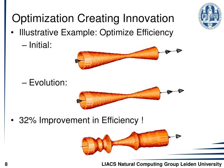 Optimization Creating Innovation