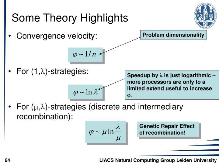 Problem dimensionality