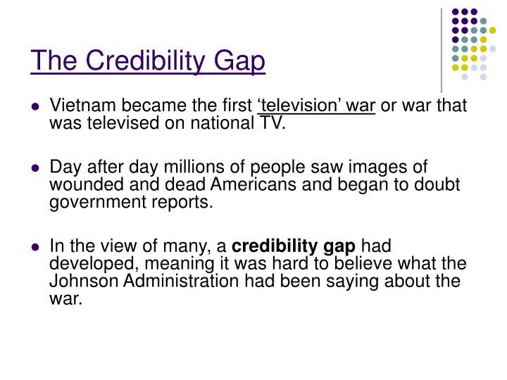 The Credibility Gap