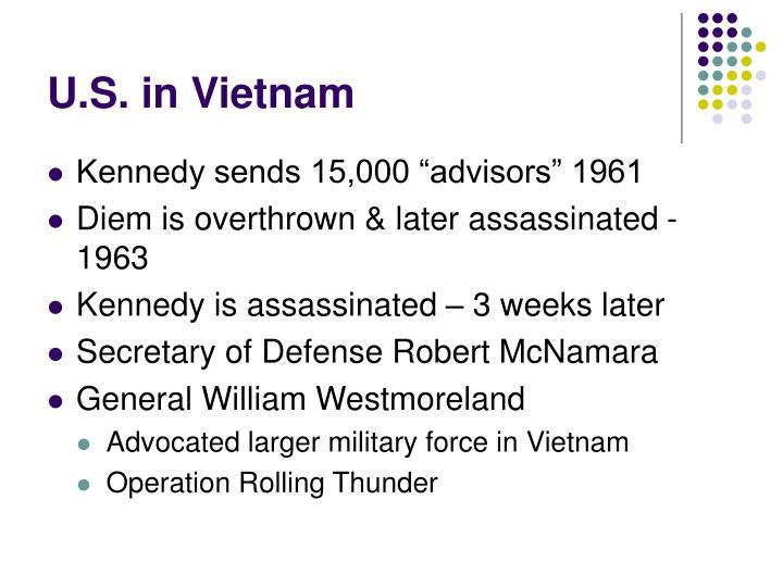 U.S. in Vietnam