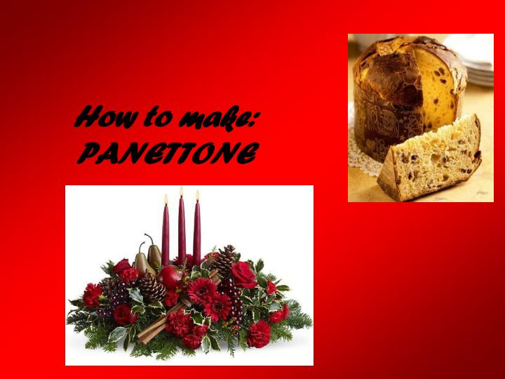 How to make: