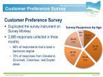 customer preference survey1