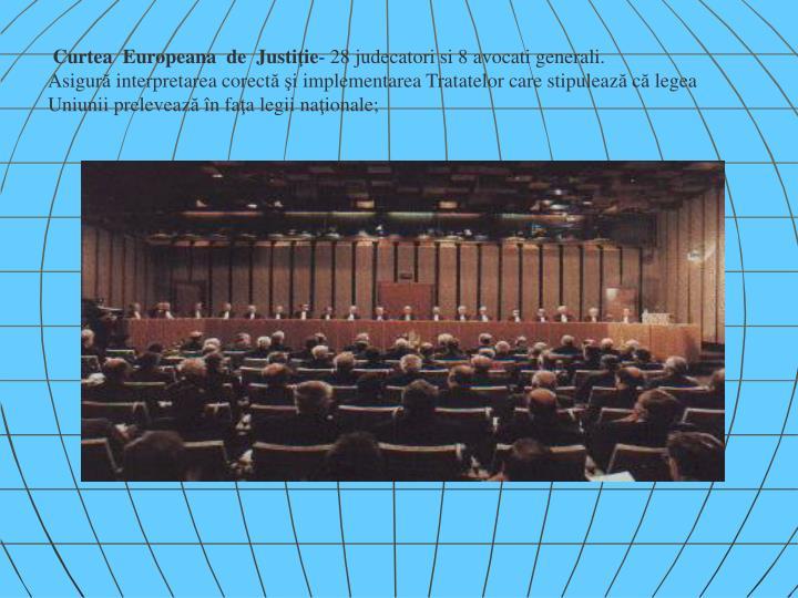 Curtea  Europeana  de  Justi