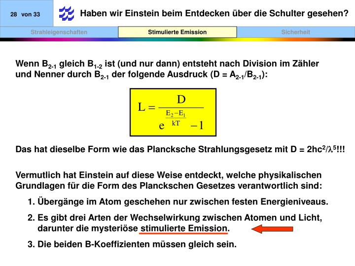 Haben wir Einstein beim Entdecken über die Schulter gesehen?