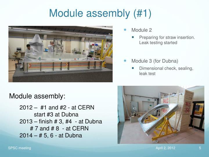 Module assembly (#1)