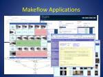 makeflow applications