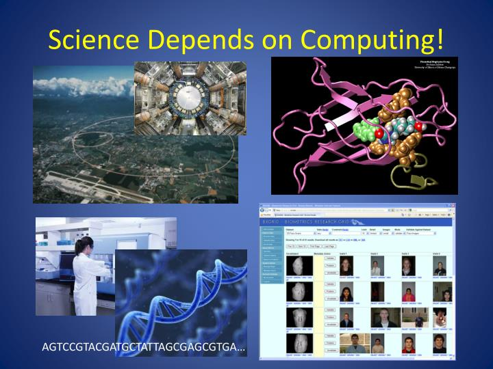 Science Depends on Computing!