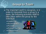 group to team1