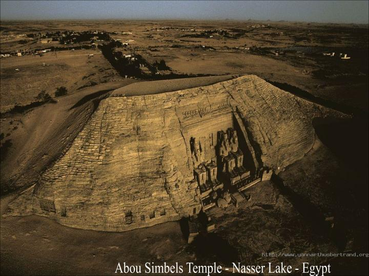 Abou Simbels Temple - Nasser Lake - Egypt