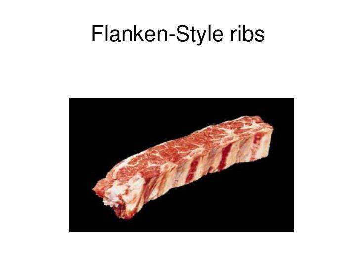 Flanken-Style ribs
