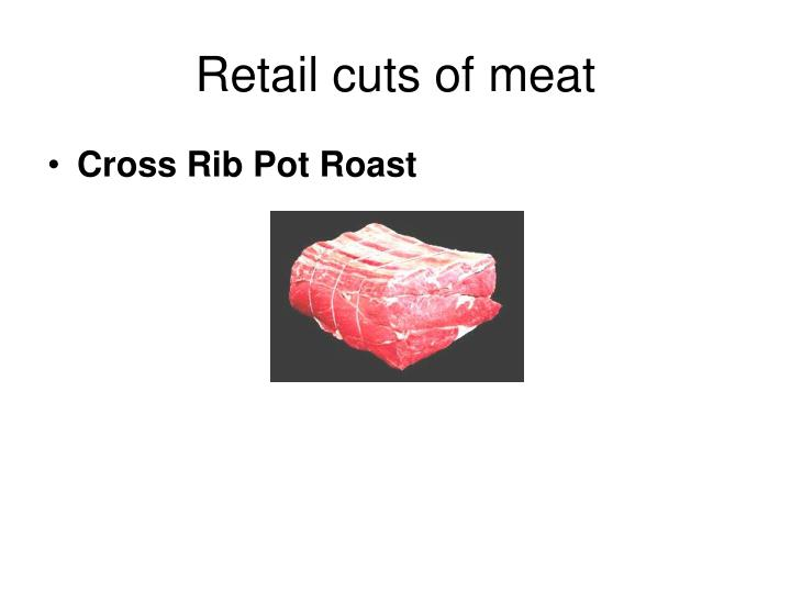 Retail cuts of meat