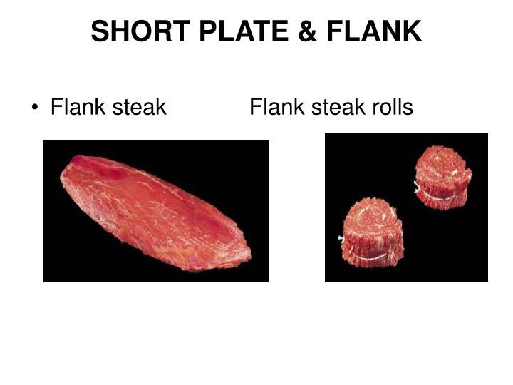 SHORT PLATE & FLANK