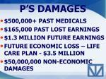 p s damages
