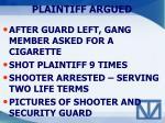 plaintiff argued