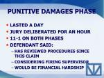 punitive damages phase