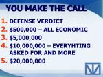 you make the call2