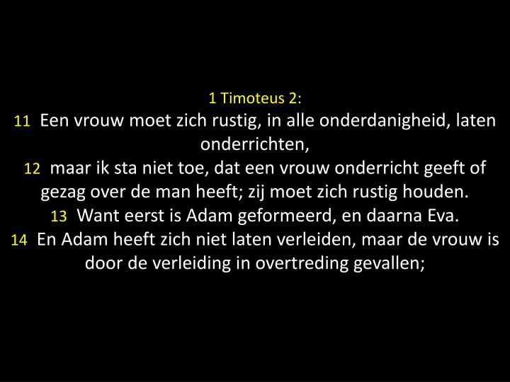 1 Timoteus 2: