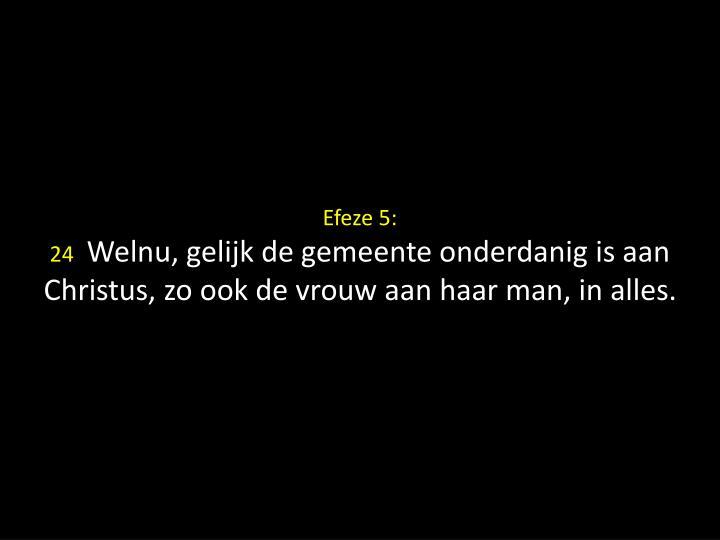Efeze 5: