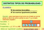 distintos tipos de probabilidad1