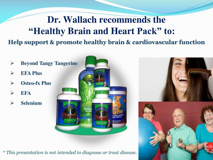 Dr. Wallach recommends the