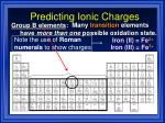 predicting ionic charges8